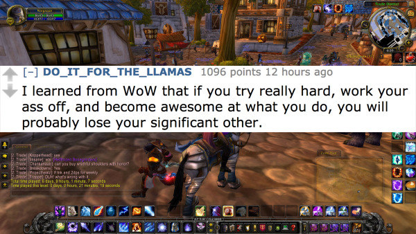 world of warcraft wife