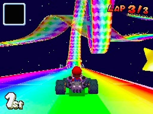 Mario Kart DS Rainbow Road DS 2005