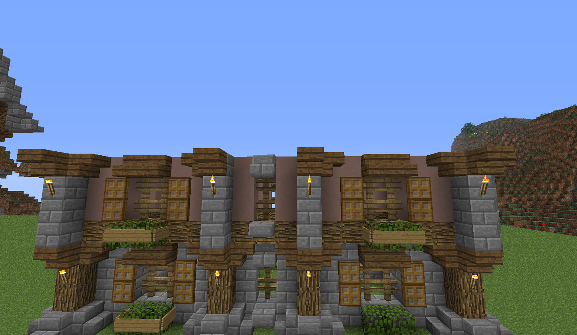Large Country House Minecraft Build Tutorial - Bc-gb