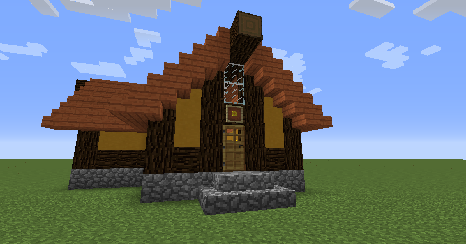 Himawari house minecraft build tutorial bc gb for How to build my house
