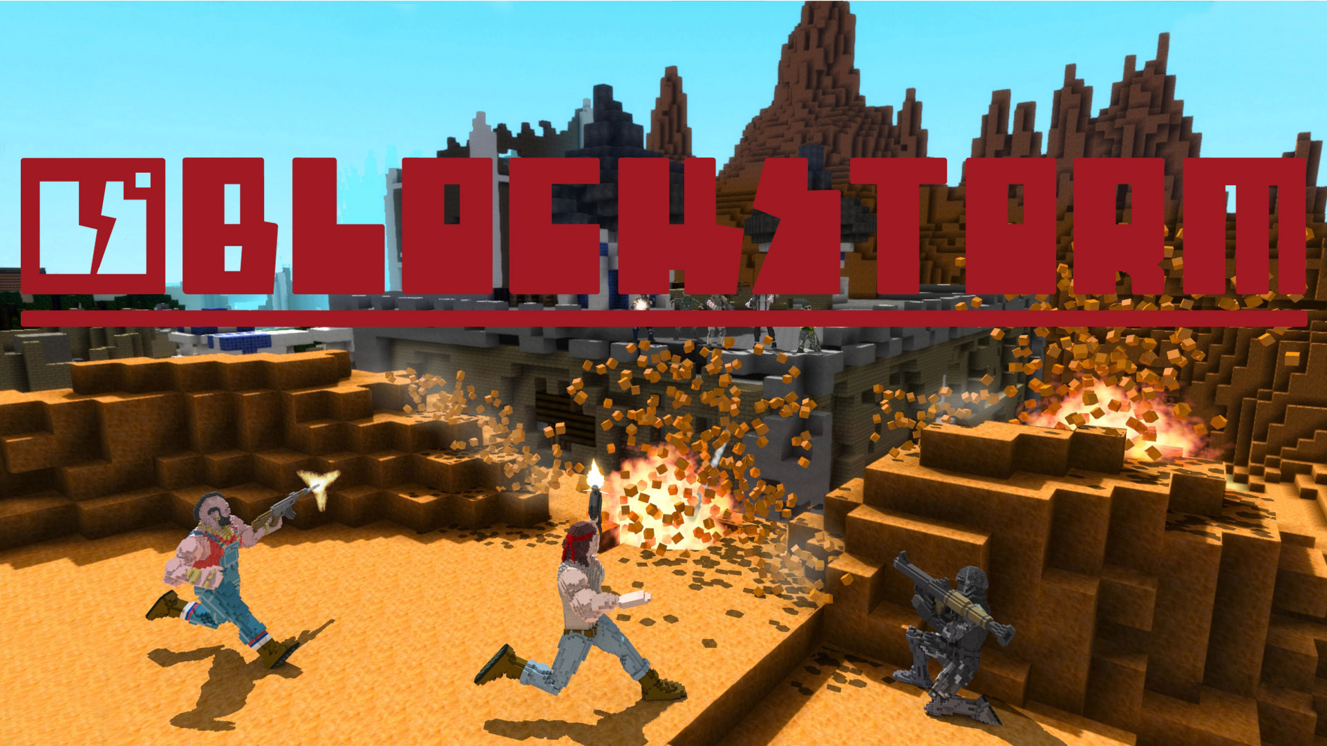 10 BlockStorm Steam Key Giveaway