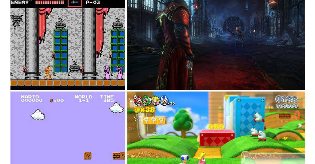 Gaming – Then and Now