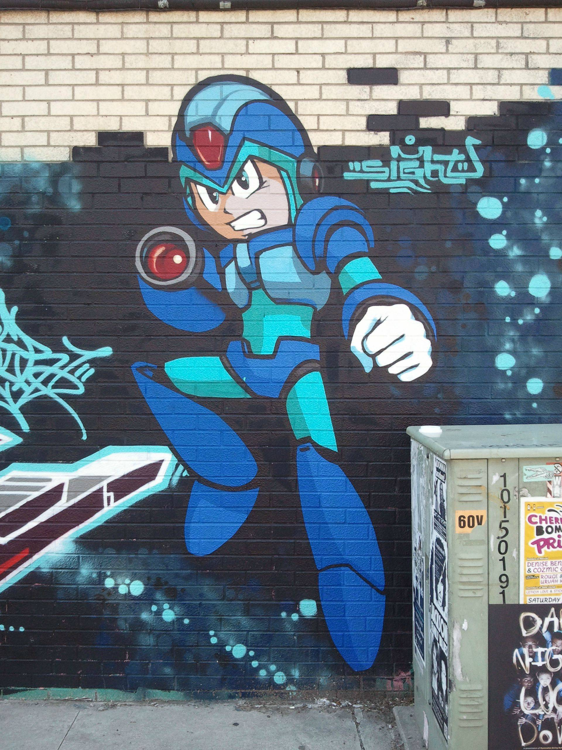 7 cool gaming themed street art scenes bcgb