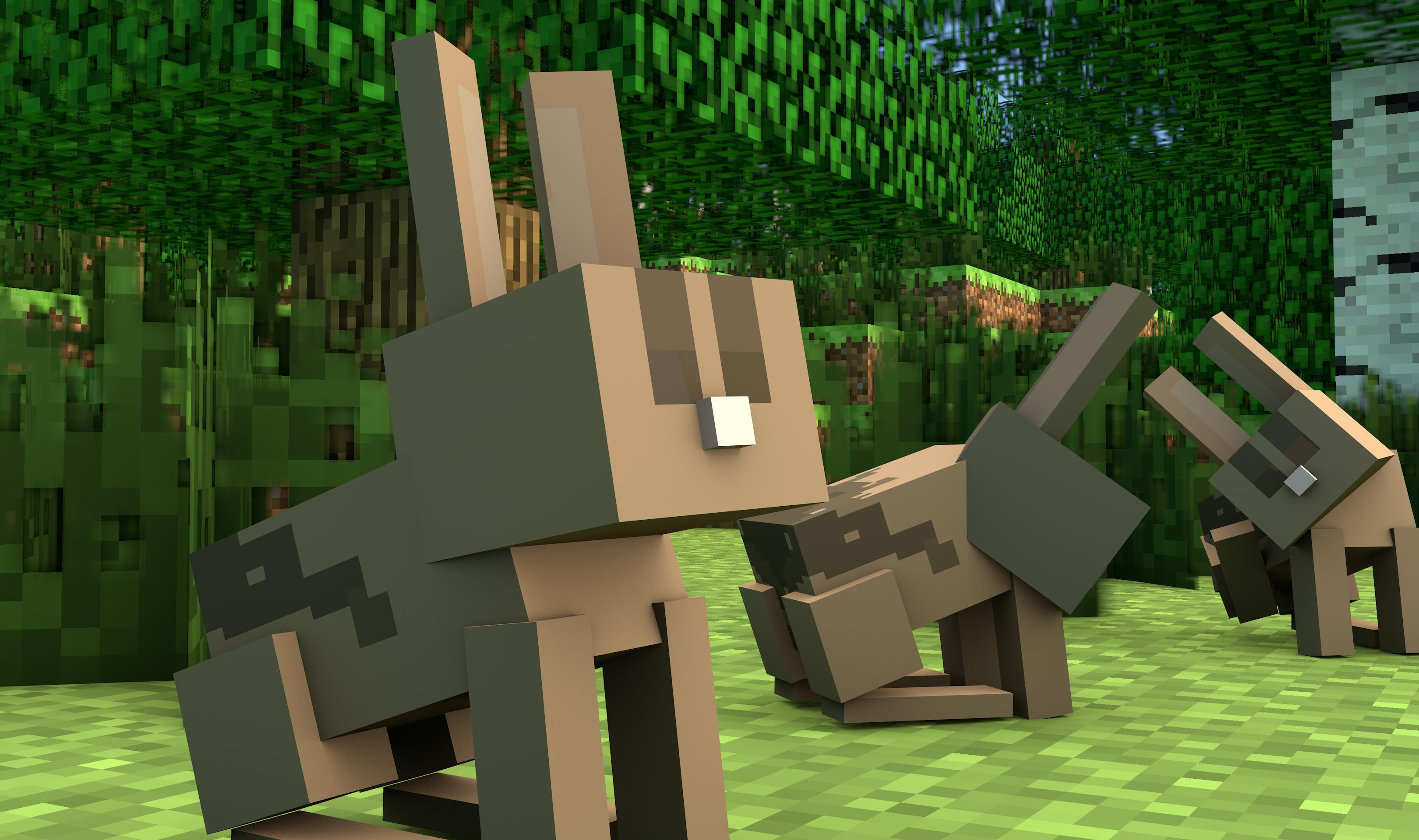 Minecraft 1.8 Bunnies Confirmed