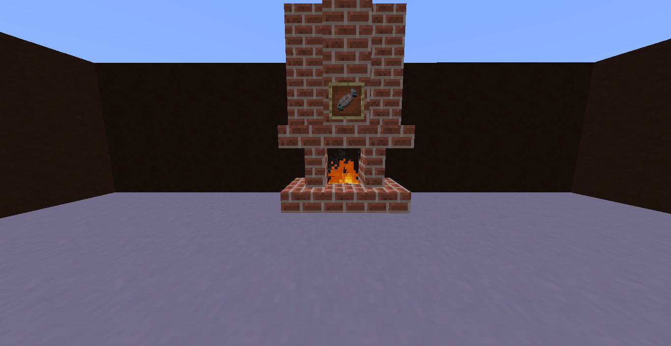 How to Build a Cool Fireplace in Minecraft
