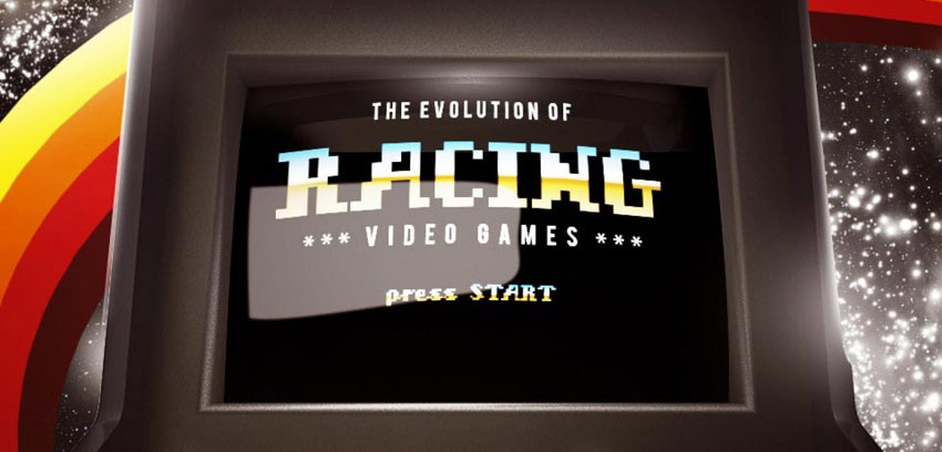 The Evolution of Racing Video Games [INFOGRAPHIC]