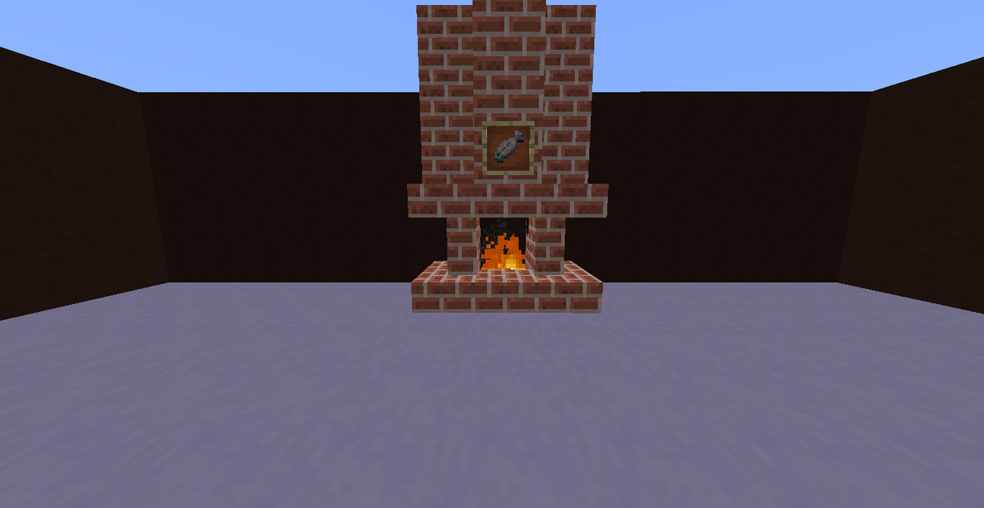 1minecraftfireplace