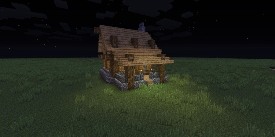 How to Build a Lovely Country House in Minecraft