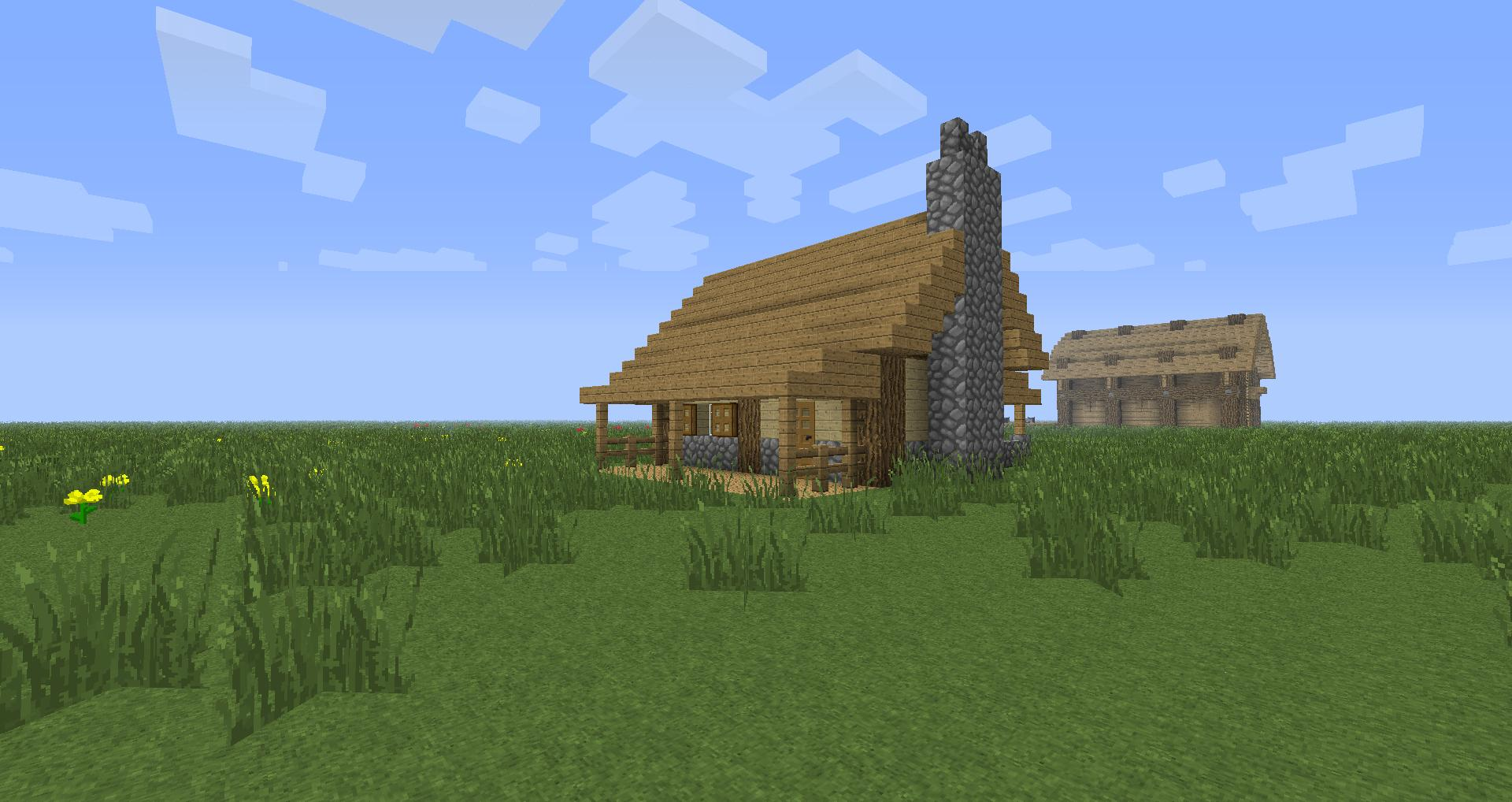 How to build one of many houses in your next minecraft for Easy to build small house plans