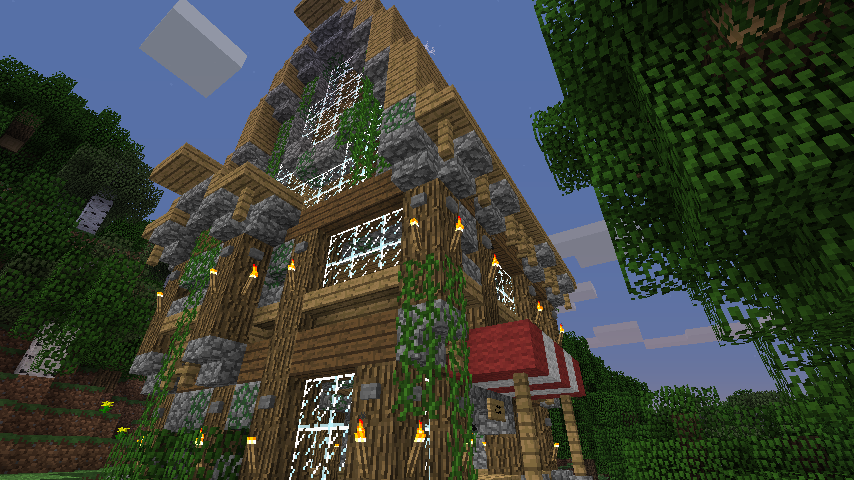 minecraft how to find home