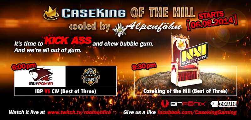 Case King of The Hill #4 Features iBP and Copenhagen Wolves