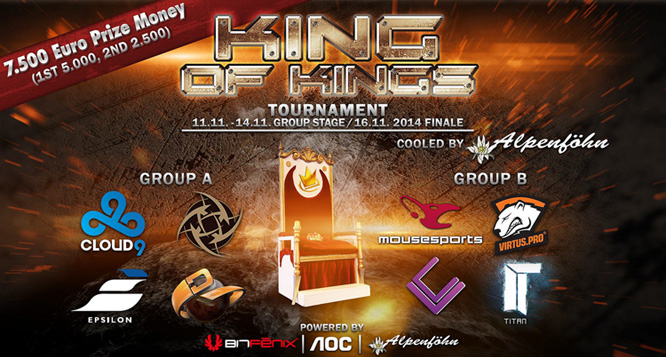 Caseking King of Kings Tournament Day 1 Predictions and Betting Advice