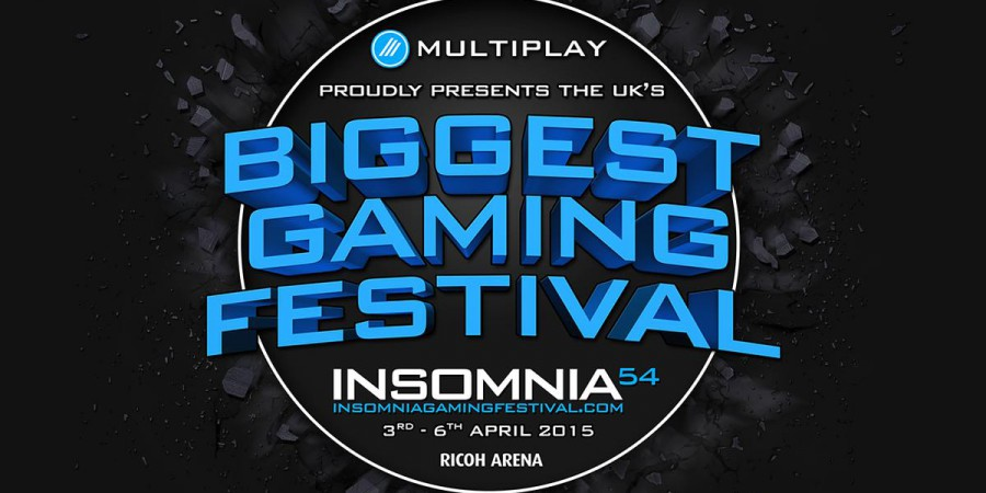 GAME signs as Event Sponsor for Insomnia54, bringing retail edge to UK's biggest gaming festival