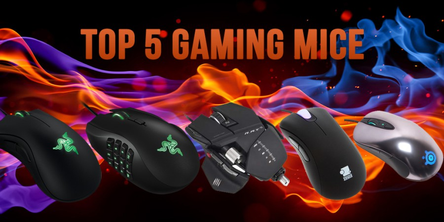 Top 5 Gaming Mice You Should Consider When Buying