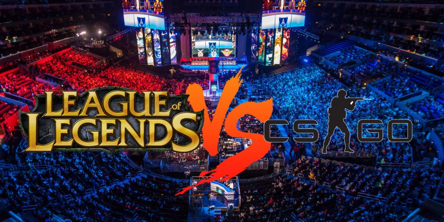 Why League of Legends is Bigger Than CS:GO