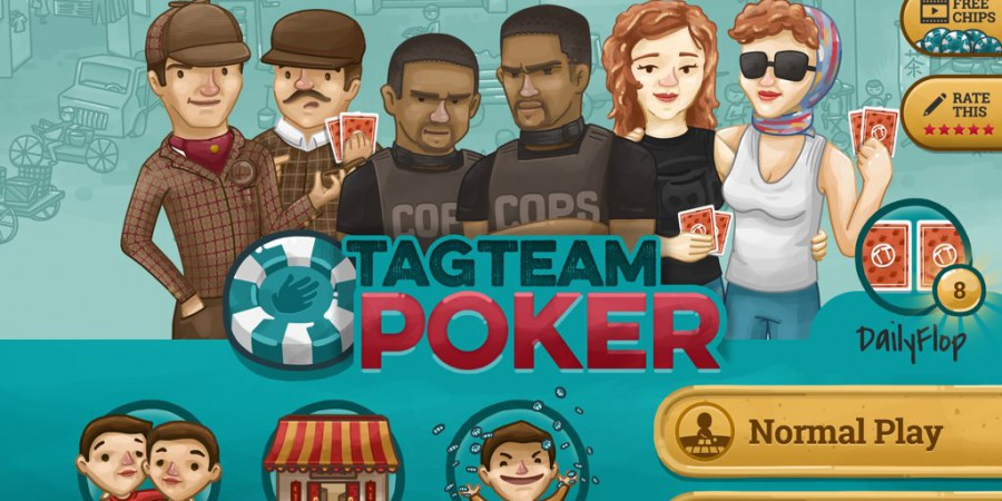Tag Team Poker – The New Way to Play Poker on Your Phone or Tablet