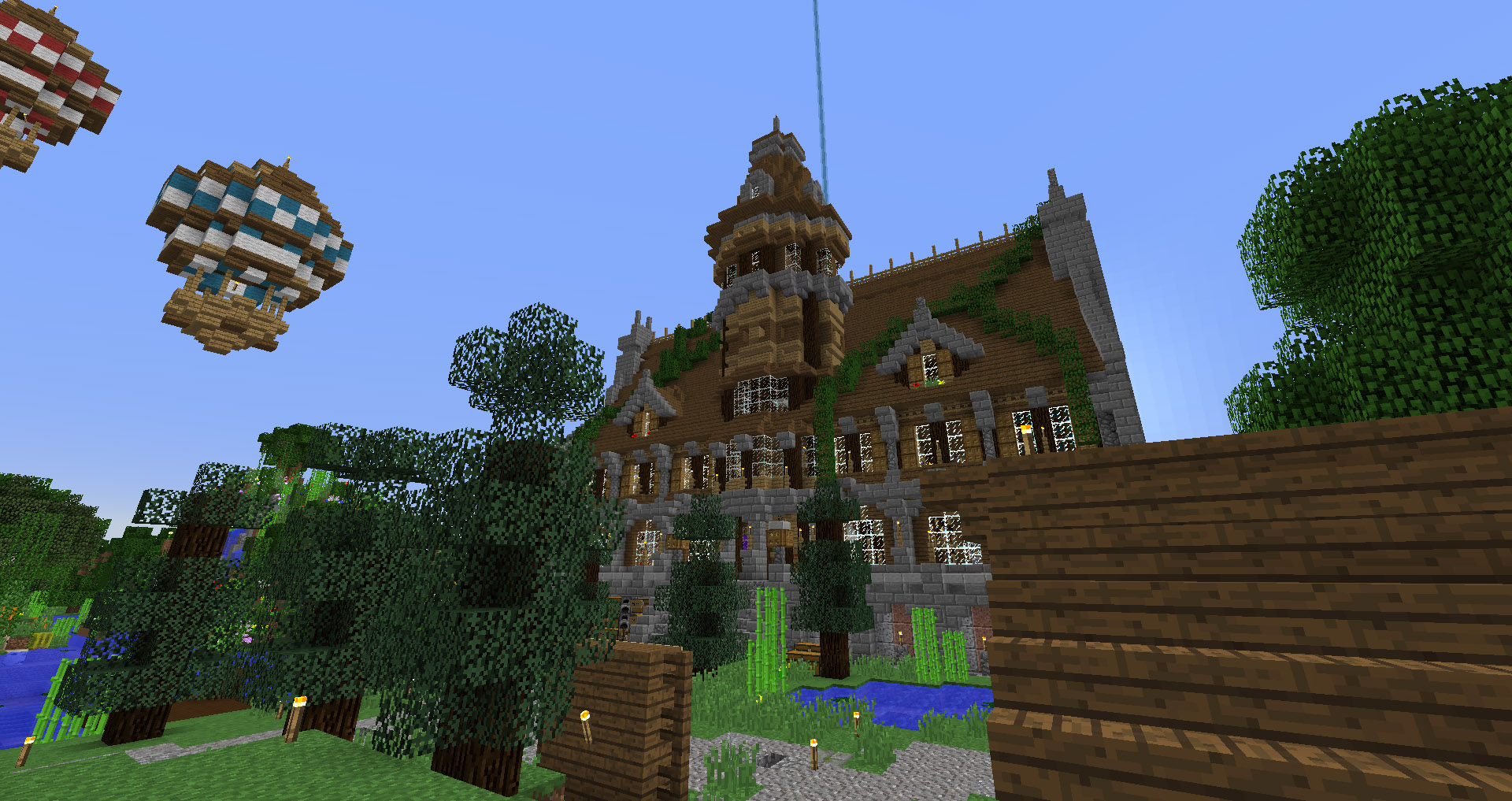 How To Build A Minecraft Mansion Easy