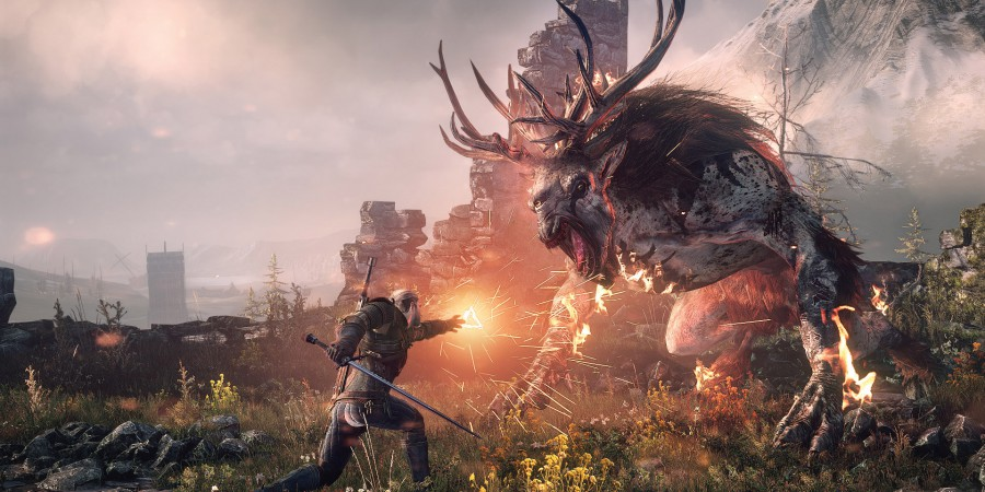Latest UK Gaming Charts – The Witcher 3 Top With Splatoon Second