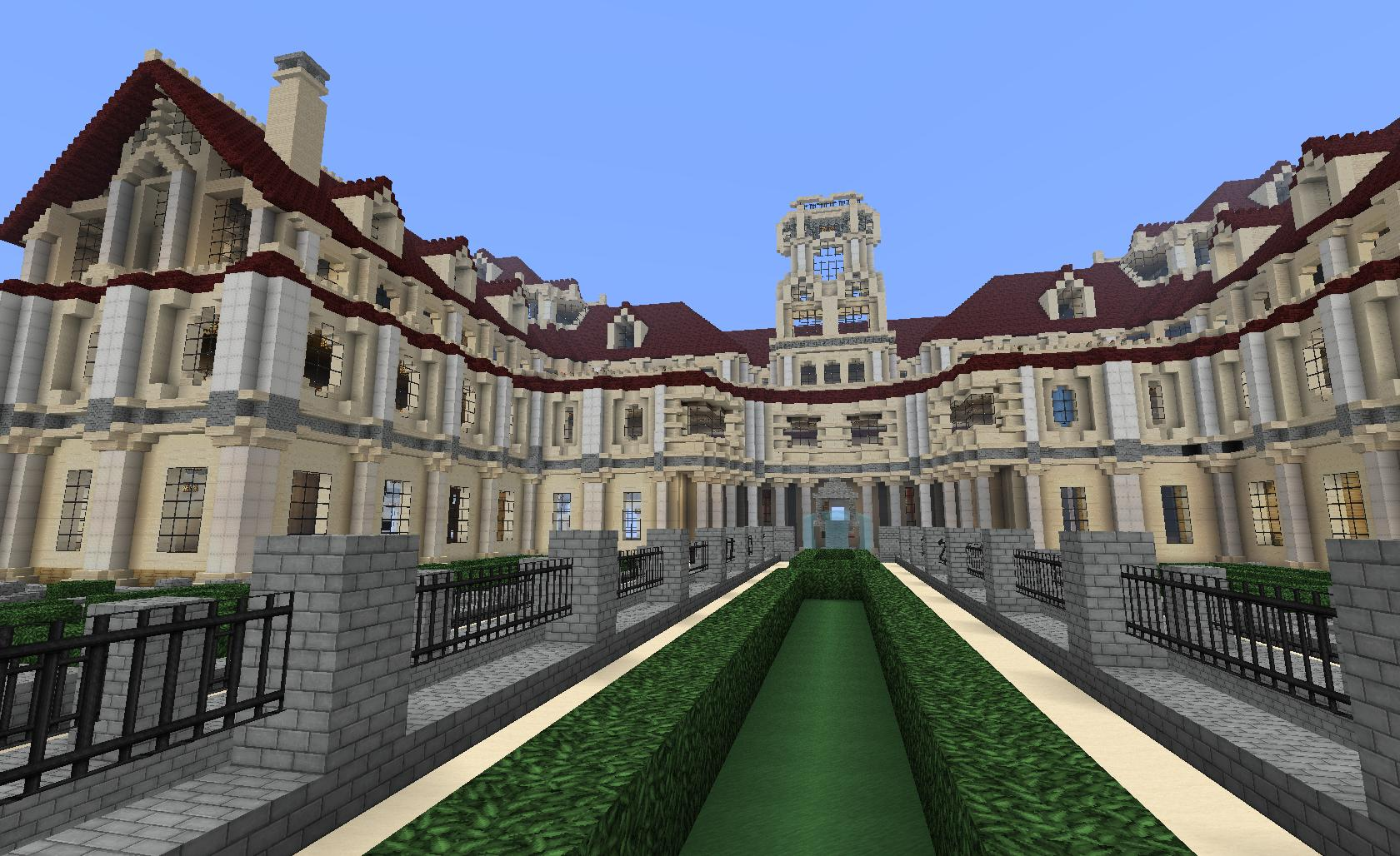 Mansions in Minecraft
