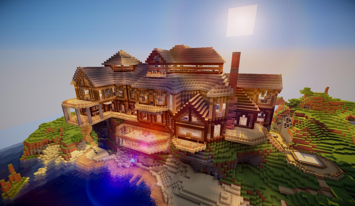 Biggest House In The World 2014 Minecraft 8 minecraft mansions for your inspiration - bc-gb