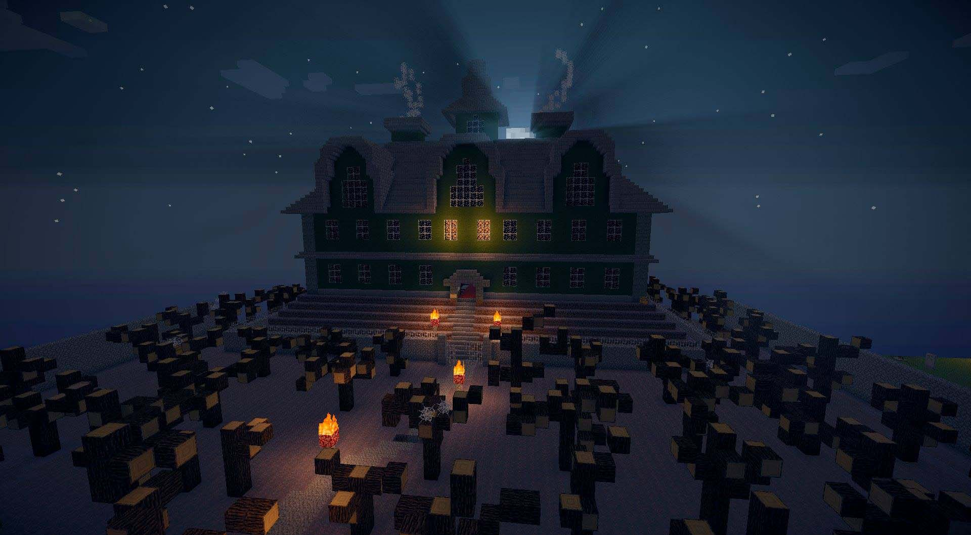 Minecraft house pictures