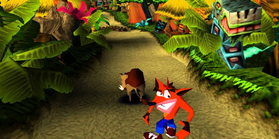 How Naughty Dog fit Crash Bandicoot into 2MB of RAM on the PS1