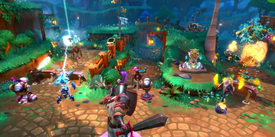 Trendy Entertainment Teams Up with Human Head Studios to Bring Dungeon Defenders II to PlayStation4