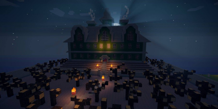 8 Minecraft Mansions for Your Inspiration