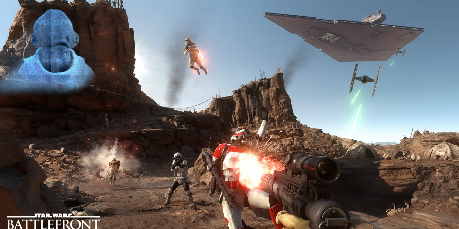 Star Wars Battlefront Trailer and Screenshots Revealed at E3