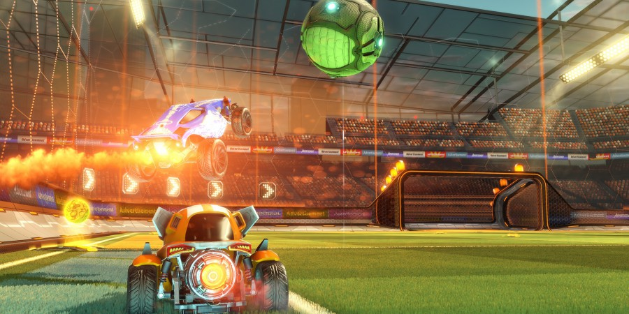 Rocket League Enters The Wasteland With Chaos Run DLC
