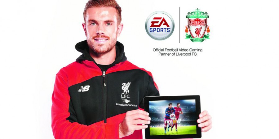 Jordan Henderson Will Join Messi on the FIFA 16 Cover