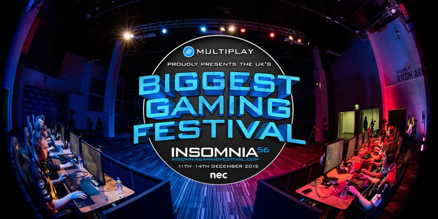 Insomnia 56 Will Be Held at The NEC – Forcing Multiplay to Change Dates