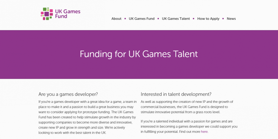 UK Games Fund Launches First Round