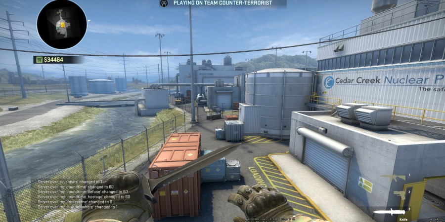 New CSGO Update Brings Back Nuke