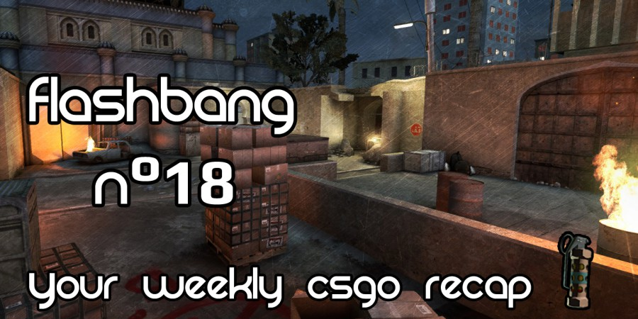 Flashbang #18 – IEM Katowice, EnvyUS roster change and Mouz coaches changes