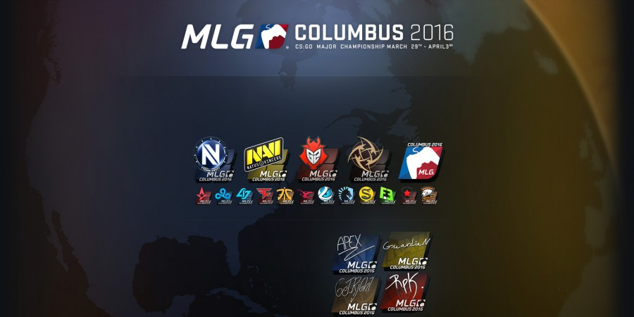 New MLG Columbus 2016 Stickers Revealed