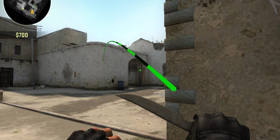 How To Nade An AWPer on Long Corner Without Facing [Dust2]