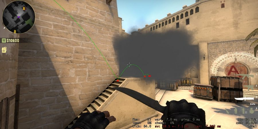 Mirage Smoke: B Apps To A Steps Smoke