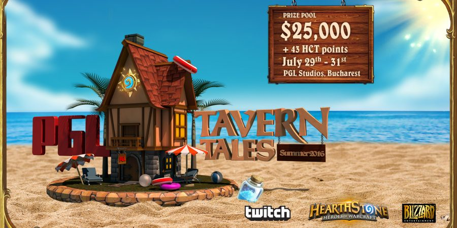 PGL Summer Tavern Tales 2016 will heat up the Hearthstone circuit this July