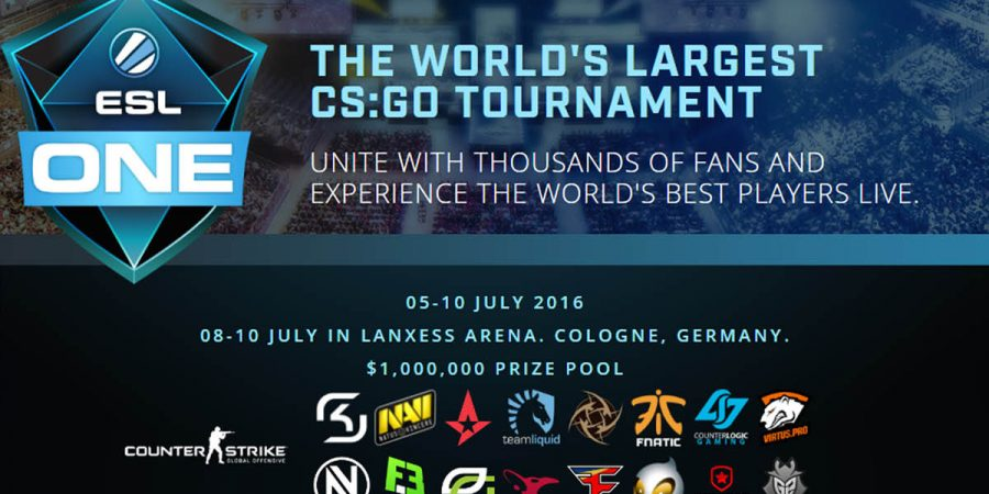 ESL One Cologne 2016 Preview Infographic