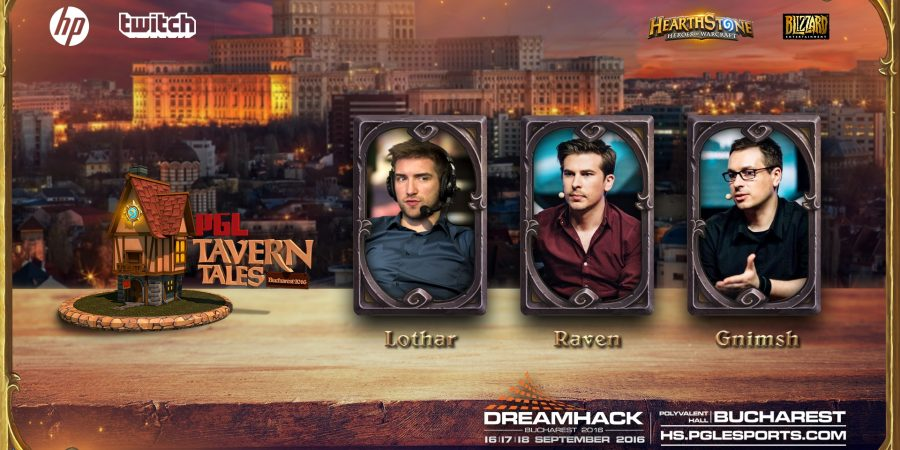 PGL Bucharest Tavern Tales 2016 reveals full player and talent line-up