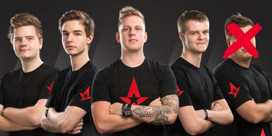 Karrigan Benched By Astralis