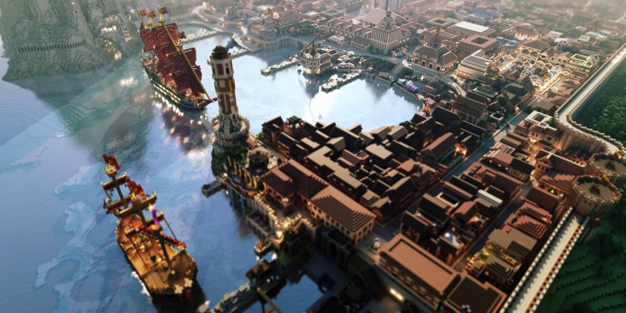 5 Breathtaking City of Lannisport Minecraft Wallpapers