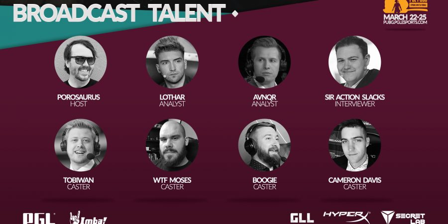 PGL PUBG Spring Invitational reveals full team list and talent line-up