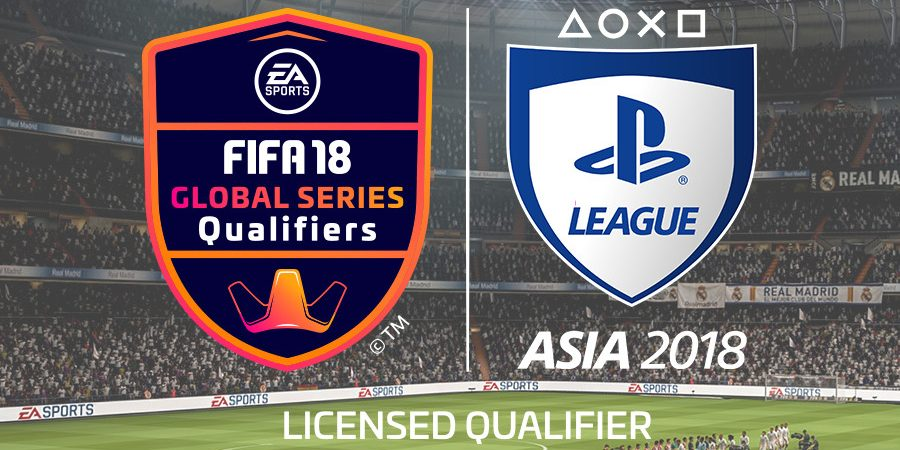 Announcing PlayStation League Asia 2018 – An EA SPORTS FIFA 18 Global Series Qualifier Event