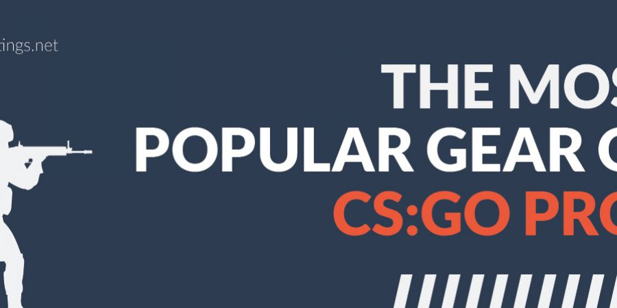 The Most Popular Gear Of CSGO Pros [INFOGRAPHIC]