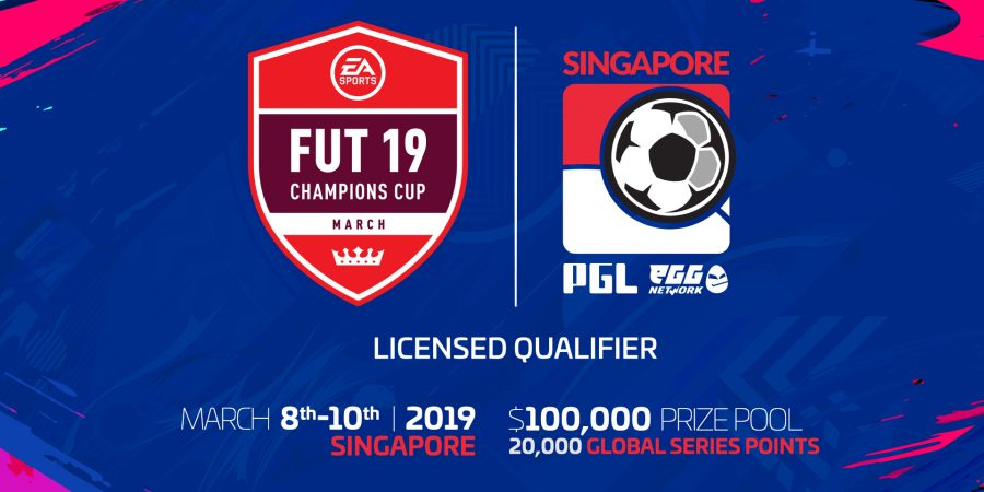 $100,000 in prize pool at FUT Champions Cup March Singapore presented by PGL & eGG Network